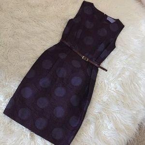 Vera Wang Lavender Label Belted Dress Sz:2